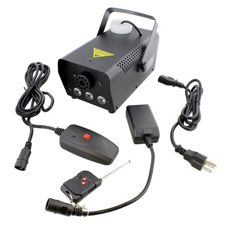 Portable Fog Machine – 400W Party Smoke Generator with LED Lights - Party Fog Machine