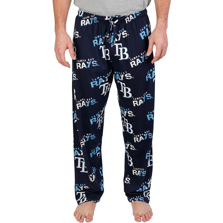 MLB Tampa Bay Rays Forerunner Big Men's AOP Knit Pant, 2XL