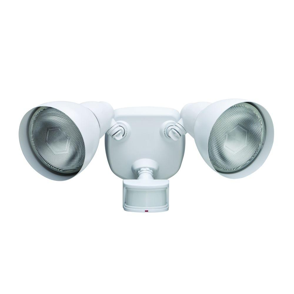 Exceptional Defiant 270° White Motion Outdoor Security Light U003ciu003e(Store Return)u003c/iu003e    Walmart.com