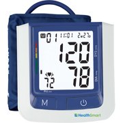 HealthSmart Select Automatic Arm Digital Blood Pressure Monitor, Standard Cuff with AC Adapter