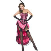 Fever Can Can Diva Burlesque Dancer Adult Costume