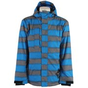 Sessions Evolution Heather Stripe Jacket Blue Heather Stripe Mens