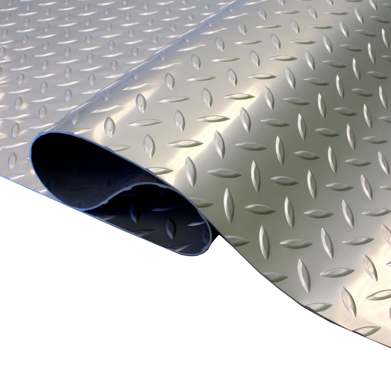 Blue Speedway 789453BL Garage Floor 6 Lock Diamond Tile