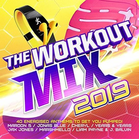 Workout Mix 2019 / Various (CD) (Best Workout Jams 2019)