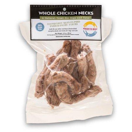 Fresh Is Best Freeze Dried Whole Chicken Necks Dog Amp Cat
