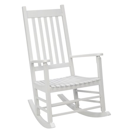 Butterfly Collection Rocking Chair - Jack Post Knollwood Mission Rocker in White