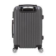 "UBesGoo 20"" Luggage Travel Carry On Bag Suitcase 4 Wheels Case with Lock"