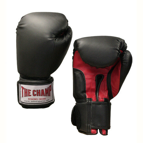 Amber Sporting Goods ''The Champ'' Velcro Boxing Gloves