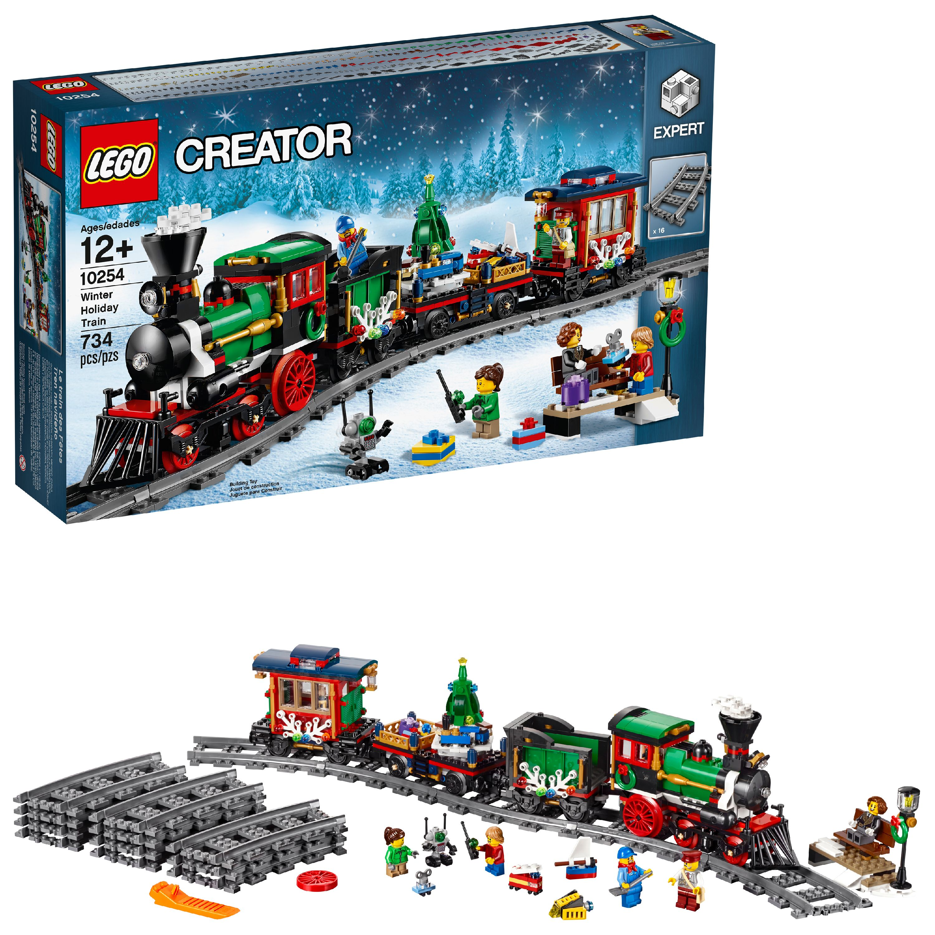 Lego Creator Expert Winter Holiday Train 10254 by LEGO System Inc