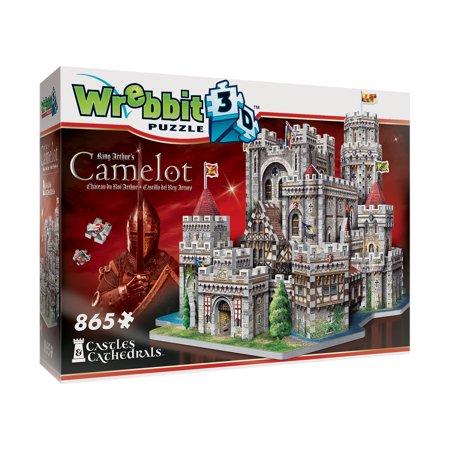 King Arthur's Camelot 3D Puzzle: 865 Pcs