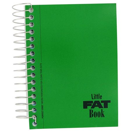 5.5 x 4 in. Basic Fat Book Notebook, Assorted Color - 200 Sheets 4 In Basic System