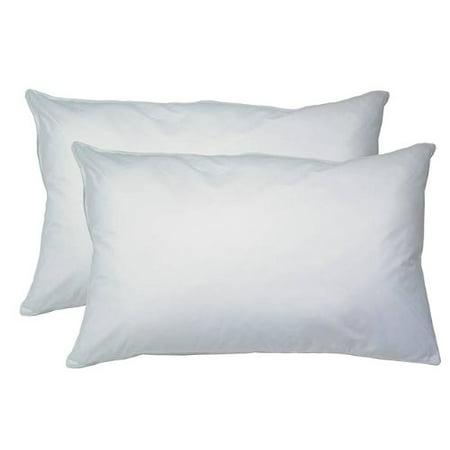 2-Pack Hypoallergenic Down-Alternative, Bed Pillow (Queen Size)