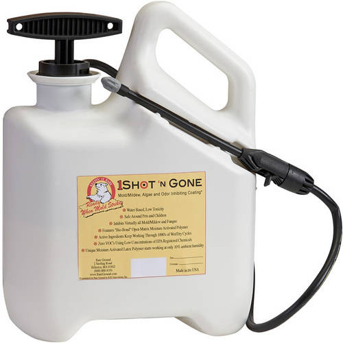 1 Shot 'n Gone Mold Inhibiting Liquid, 96 oz