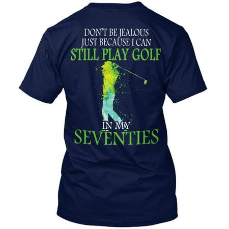 Golf At Seventies Man Shirt Hanes Tagless Tee - Seventies Clothes