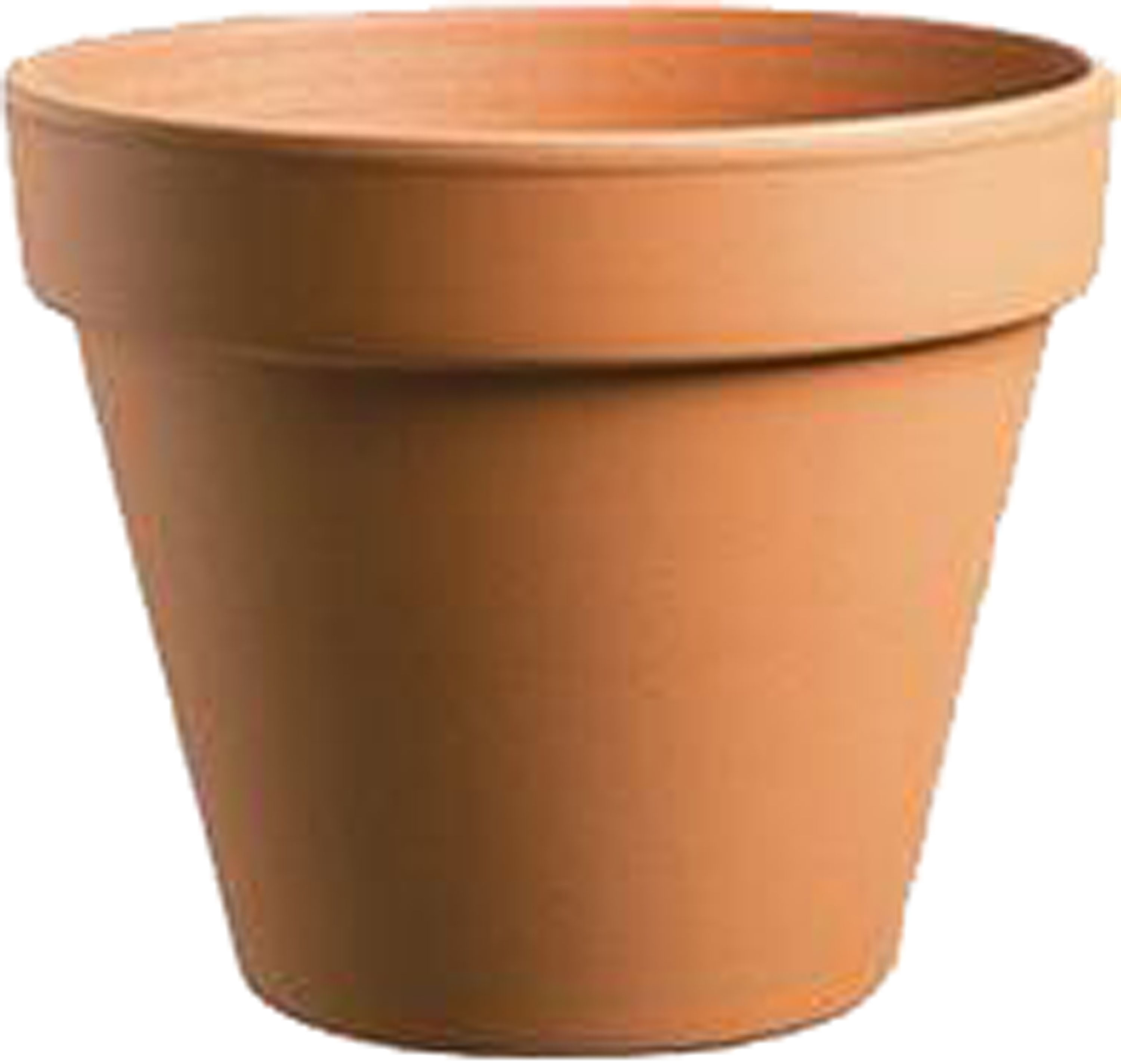 Southern Patio-Standard Clay Pot- Terra Cotta 8 Inch (Case of 12 )