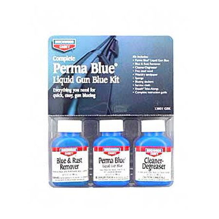 B/C Perma Blue Liquid Gun Blue Kit Sku: 13801