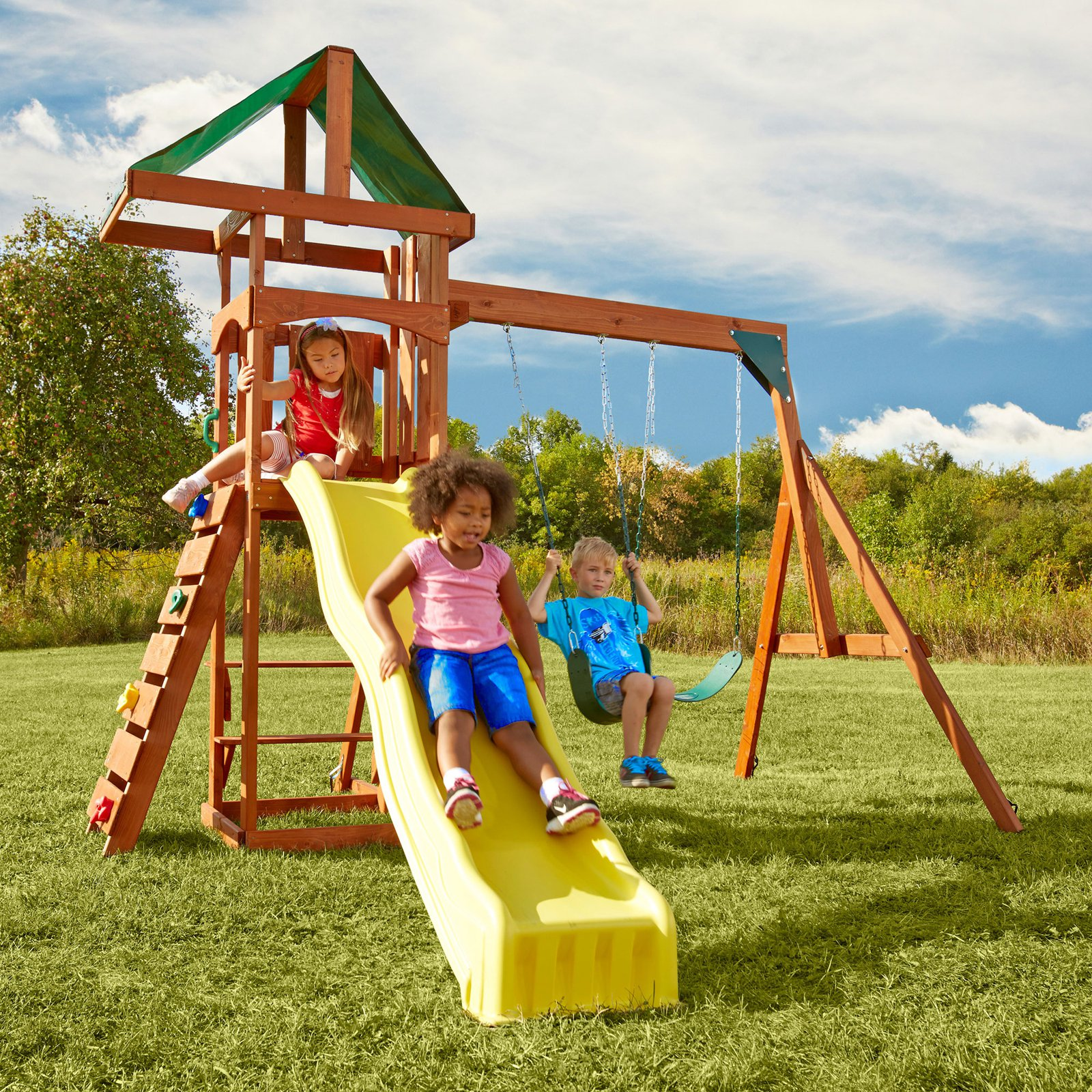 Swing-N-Slide PB 8137 Scrambler Play Set