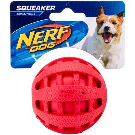 "Nerf Checker Squeak Ball 2.5""-Red - image 1 de 1"