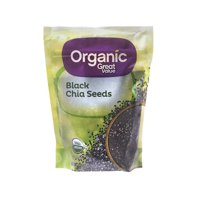 Great Value Organic Black Chia Seeds, 12 oz