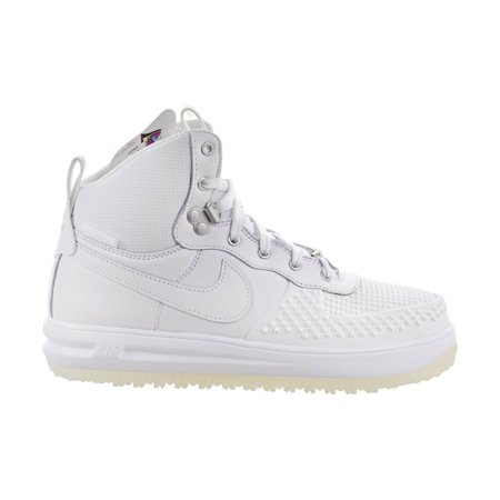 Nike Lunar Force 1 Duckboot (GS) Big Kids Shoes White/White 882842-100