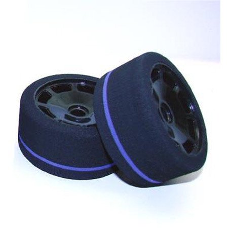 Calandra Racing Concepts (CRC) 1/10 World GT Spec Tire, Foam, Front (2), - Foam Racing Tires Front