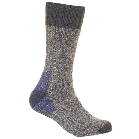 Woolrich Mens First Fork (Woolrich Men's Merino Wool Blend Cold Weather Socks 2pk Navy Large )