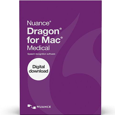 NUANCE 375582 Dragon for Mac Medical Version 5 - 1 Licens...