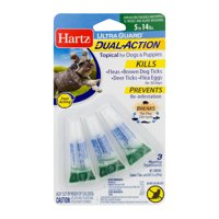 Hartz UltraGuard Dual Action Flea & Tick Topical Treatment for Dogs