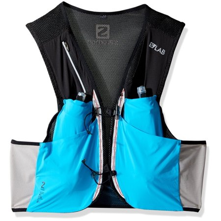 Salomon Unisex S-Lab Sense Ultra 2 Set Backpack Transcend Blue/Black