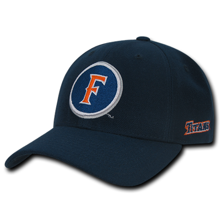 - NCAA Fullerton Cal State University Titans Structured Acrylic Cap Baseball Caps