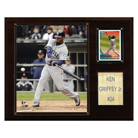 C&I Collectables MLB 12x15 Ken Griffey Jr. Seattle Mariners Player Plaque