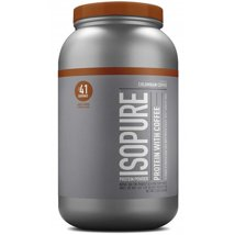 Protein & Meal Replacement: Isopure Zero Carb Protein Powder with Coffee