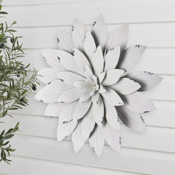 Better Homes Gardens White Metal, Better Homes And Gardens Wall Decor