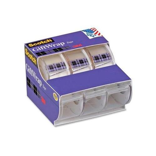 Scotch GiftWrap Transparent Tape MMM311