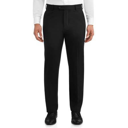 George Men's Premium Comfort Stretch Flat Front Suit (Sims Snow Pants)