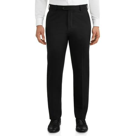 One Trouser Suit (George Men's Premium Comfort Stretch Flat Front Suit)