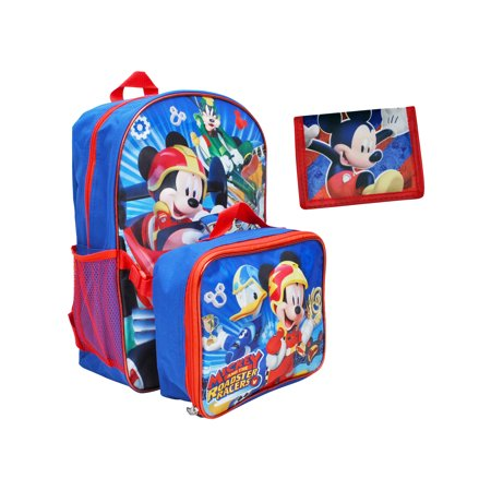 1711ae8f4eb Disney - Boys Mickey Mouse Roadster Racers Backpack 16