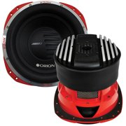 Hcca 15 Inch Woofer Dual Voice Coil 2500w Rms Red Woofer Car Audio
