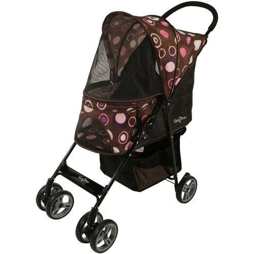 Journey Pet Stroller - Pink Bonnet