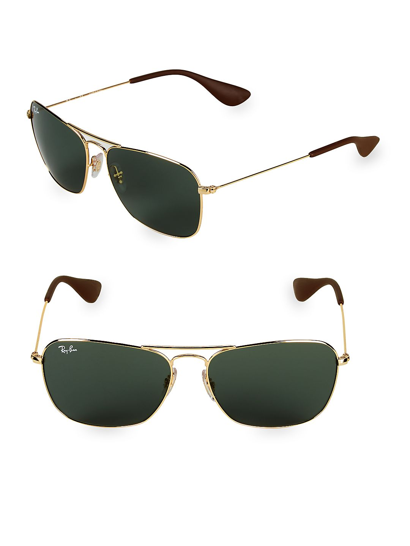 58MM Rectangle Sunglasses