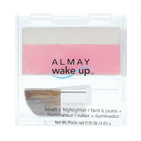 Almay Wake Up Blush + Highlighter 010 Pink/Rose .16