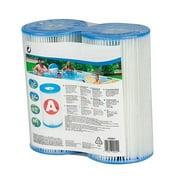 Type A or Type C Filter Cartridge Pool Replacement Filter Cartridge for Swimming Pool Daily Care