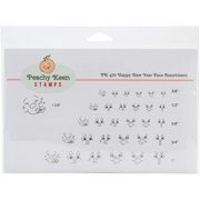 Peachy Keen Stamps Clear Face Assortment 31/pkg-happy New Year