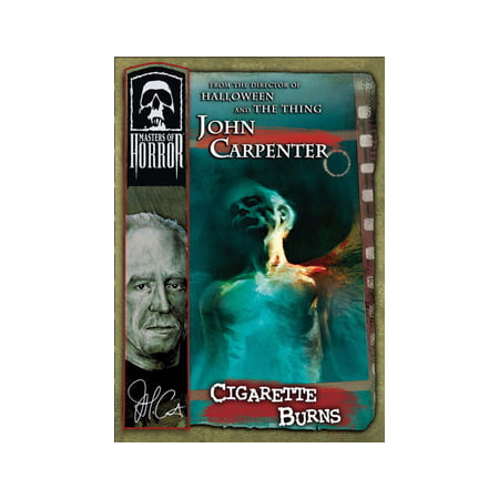 Masters of Horror: John Carpenter, Cigarette Burns (DVD) (John Carpenter Halloween 2 Theme)