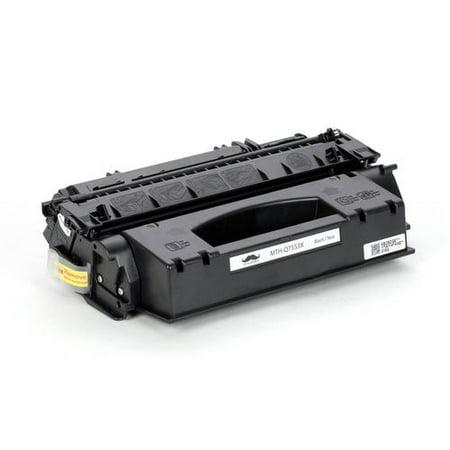 Compatible HP 53X Q7553X Black Toner Cartridge High Yield for LaserJet M2727MFP LaserJet M2727nf /M2727nfs MFP/P2015 /P2015D/P2015DN/ P2015X - Moustache® - 1/Pack - image 4 de 5