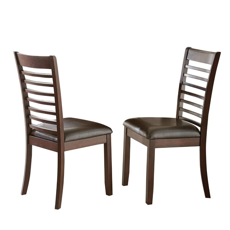 Steve Silver Allison Faux Leather Dining Chair (set of 2) by Steve Silver Company