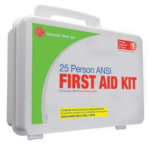 TENDER CORP 9999-2129 First Aid Kit,PS,Components 109