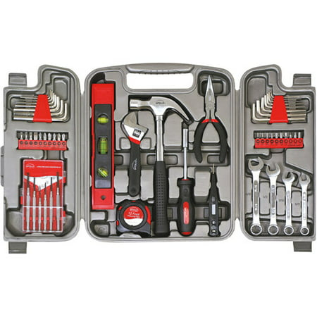 Apollo Tools DT9408 53-Piece Household Tool Kit (Travel Tool Kit)