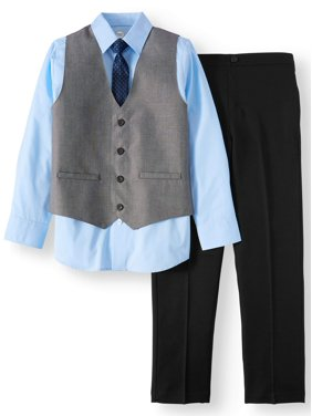 d890b8d9d30 Product Image Boys  Dressy Set With Sharkskin Vest