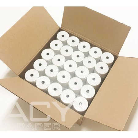 ACYPAPER, 3 1/8 x 230' Thermal Paper Rolls, For Cash Register (POS). BPA Free (50 Rolls) (Perfection Thermal Roll Paper)